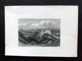 Finden Works of Byron C1835 Antique Print. Gulf of Spezzia, Italy